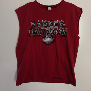 Harley Davidson Nassau, Bahamas Sleeveless Tee XXL